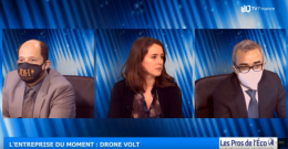 Jean-David Haddad et Clothilde Gagnon ont interrogé Sylvain Navarro, DAF de Drone Volt